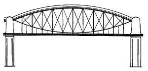 Royal Albert Bridge - the roadway is added